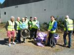 TIDY UP THE TOWN LITTER PICK WEDNESDAY 22nd APRIL 2015 - club 001