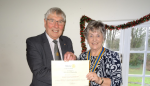 Two Past Presidents Recognised -
