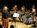 Sports, Social and Events - Doug Stewart leading the Inverness Fiddlers