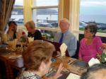 Llandudno Conference 2009 - President Harry and Secretary Enid choose their meal