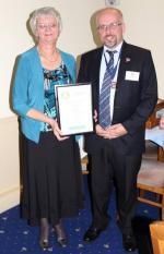 Community Service Awards - diane mansell janet fry award