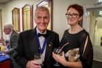 2019 Lamplighter Charter Night - Jane and Richard