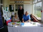 Golf Day 2010 - Liz Lacon, Gordon Field and Tim Noyce at the registration desk
