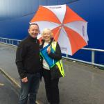 IKEA - Abseiling - Joyce is chair of