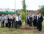 Newent Interact Club - Tree Planting Group at the Inaugural Meeting of Newent Interact Club
