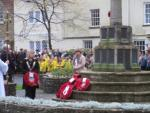 Remembrance Service 2015 - Laying the wreath