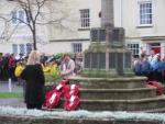 Remembrance Service 2015 - after laying the wreath