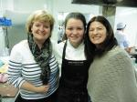 Rotary Young Chef 2015-16 - District Final Feb 2016 - Mum Dympna and Teacher Toni happy to finally be there and didn't she do well!.....