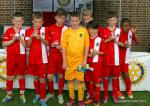 Another Fantastic Primary Schools Football Tournament! - Runners Up, Oakmere with their trophies