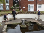 Ingleton House Pond Project  - June 2020 - paint trio 03
