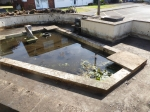 Ingleton House Pond Project  - June 2020 - pond day 3 completed 2