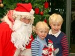 Community Service - Large numbers of children visit our grotto each year
