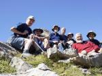 ABOUT Rotary Keswick - Club members enjoy the high points on a walking tour in the Pyrenees
