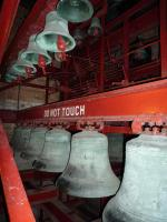 Members visit to the Carrillon - The Bells!!