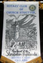 Banners - rc of church stretton