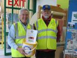 Fund Raising - Collecting at Sanders Garden Centre in aid of Shelter Boxes