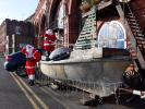 Pop-Up Santa's Christmas journey - day 16 - Well, well, well,  who should Santa meet but himself on a different kind of sleigh. Not a patch on our man, but a good effort nevertheless.