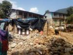 Mirge Nepal Update 5 - After the second earthquake one building was left standing