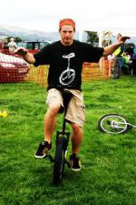 St Asaph country Fayre 2013 - unicycle2
