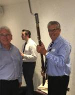 Paul Evans and Steve Davies; The 5/60th Rifles Living History Group -