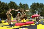 WHEELS 2015 A GREAT SUCCESS - Army cadets relaxing