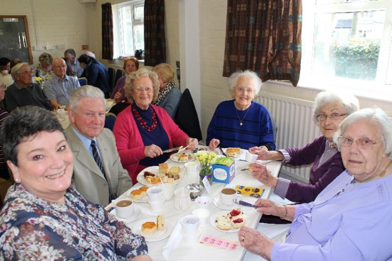 Time for a cuppa? Working in partnership with the Inner Wheel Club of Wylde Green. -
