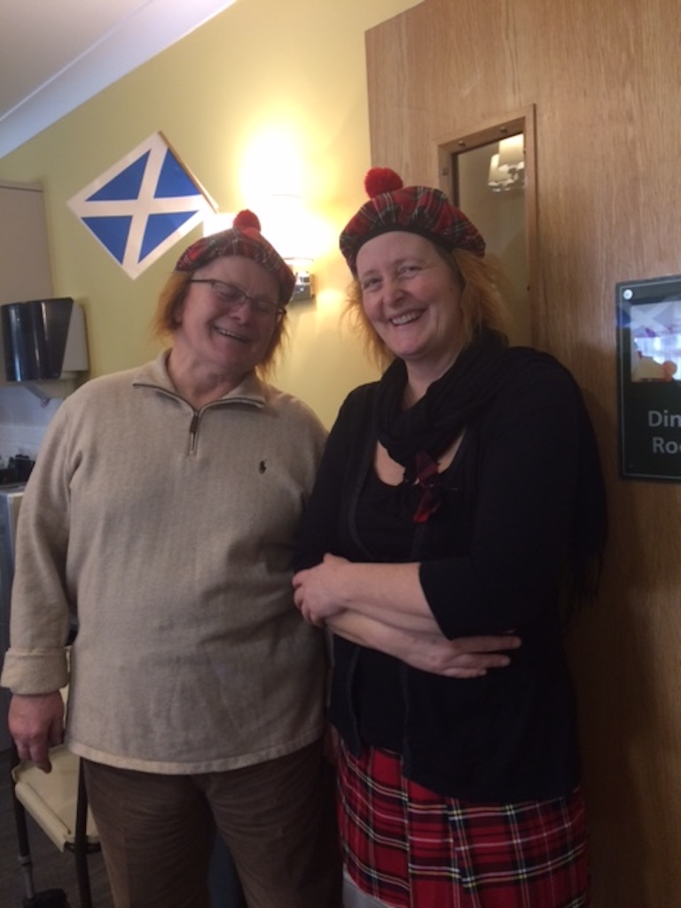 Scottish Lunch at Tor-Na-Dee Care Home, 25Jan18 -