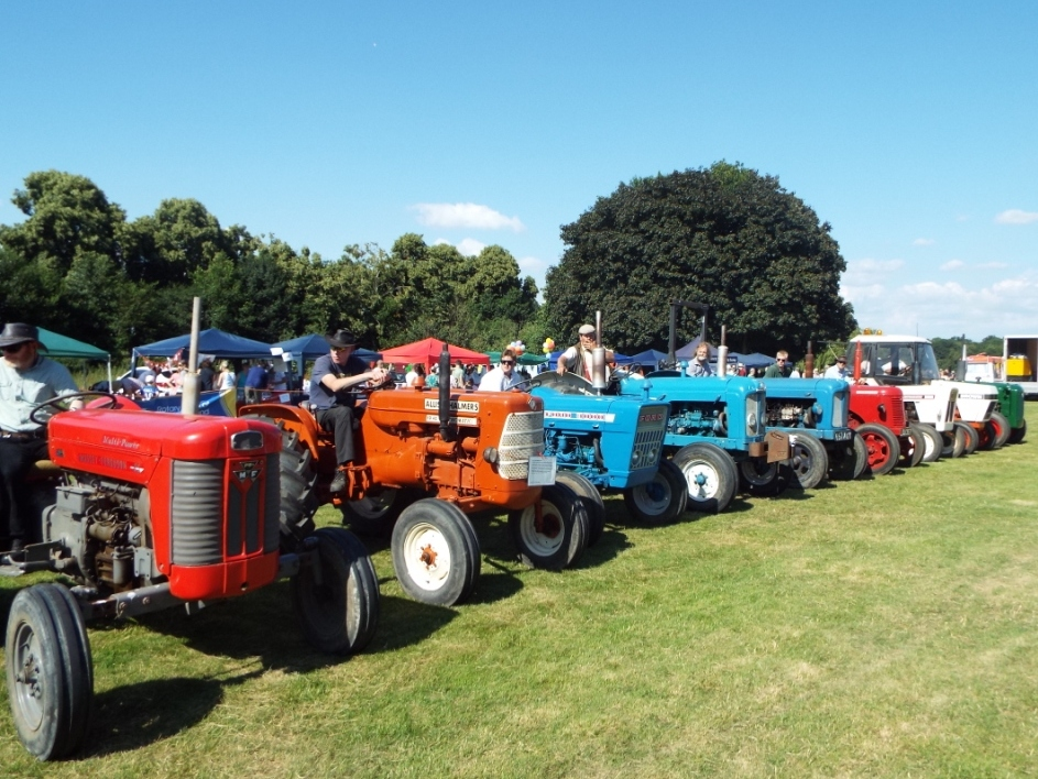 The Ripley Event - tractors