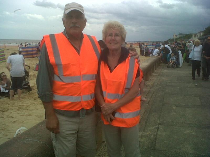 Lowestoft Air Show - two stewards 23 june 12