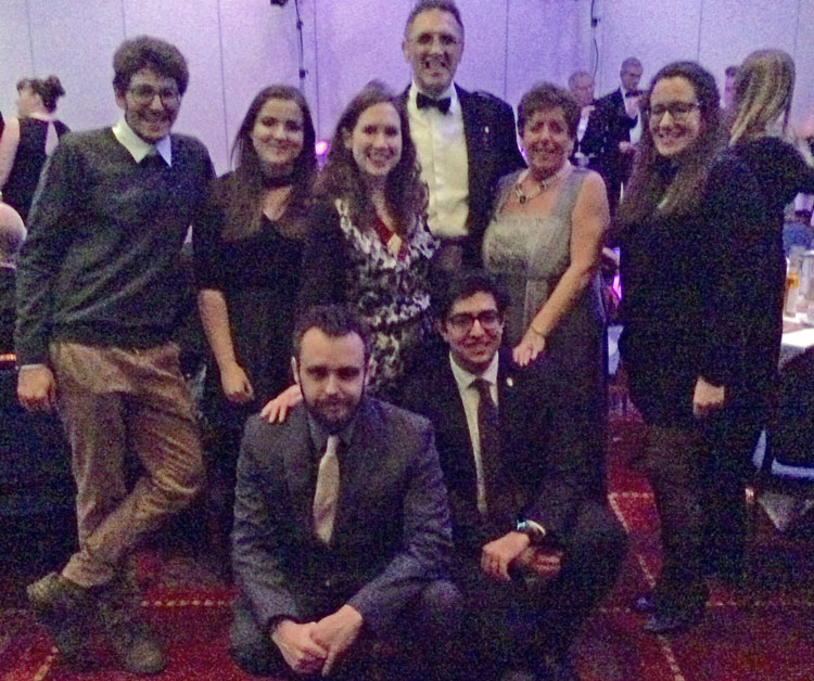 Annual Burns Supper - Davy-&-Carole-with-Glasgow-Rotaract