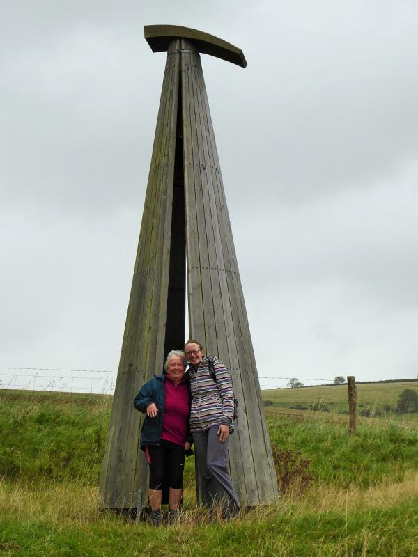 A walk in the Rain around Cerne Abbas and Sydling St Nicholas -