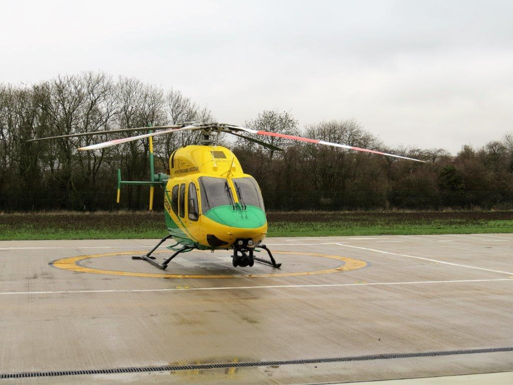 Club donates £1,000 to The Wiltshire Air Ambulance -