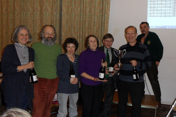 Kew Quiz 2012 - winners 16