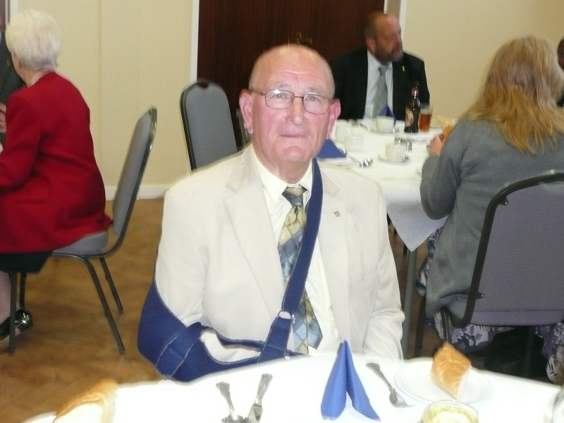 40 years of Rotary in Chatteris - wounded warrior 2011