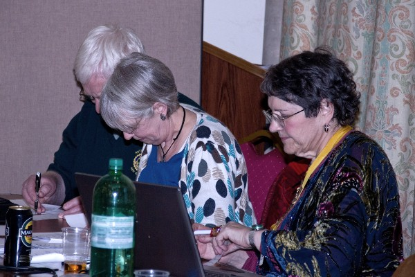 Kew Quiz 2012 - xOrganisation at top table