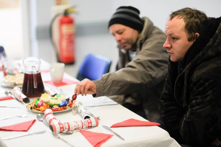 Christmas Lunch for the homeless and those on their own at Christmas - xmas 15 - 4