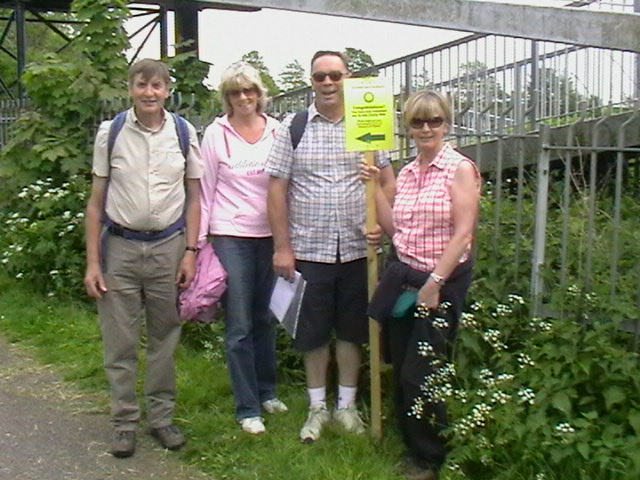 Annual Charity Sponsored Walk 18th May 2008 - .