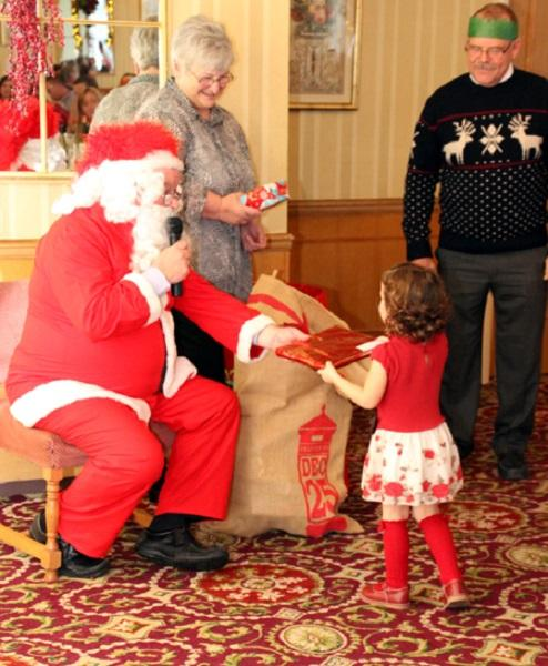 Recent Events - 150 people including club members and their families celebrated Christmas at the Redcliffe Hotel on 13th December 2015.
