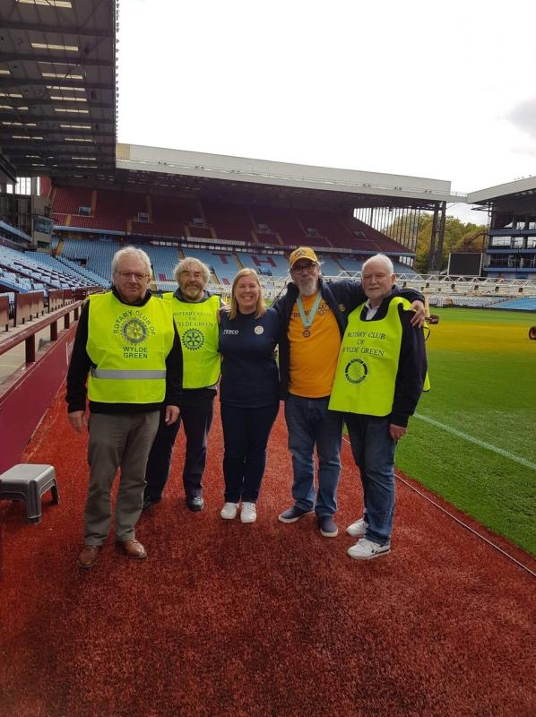 District Disabled Football Tournament at Villa Park -