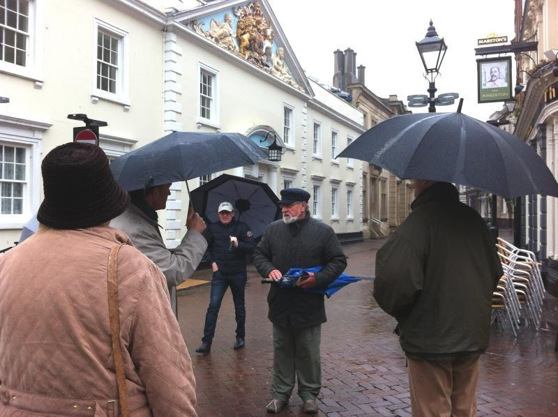 About our Club - Walking tour of the city of Hull guided by Malcolm Sharman