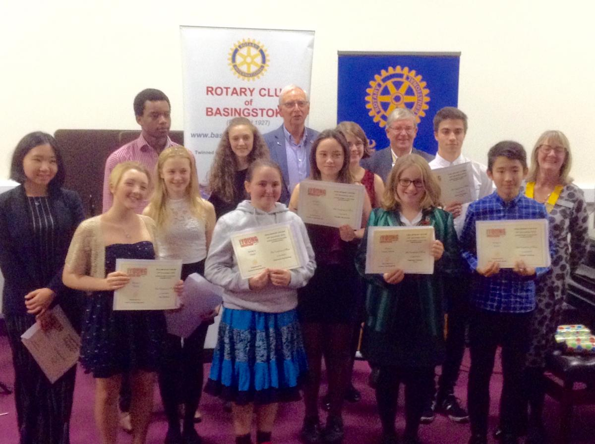 Rotary Young Musician Competition  - young musician 2016