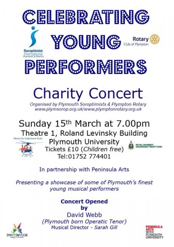 Celebrating Young Performers 2015 - young musician flyer 2015