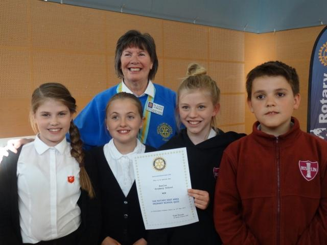 Primary School Quiz 2015 Area round - Isabel, Keira, Madeline and Augustus