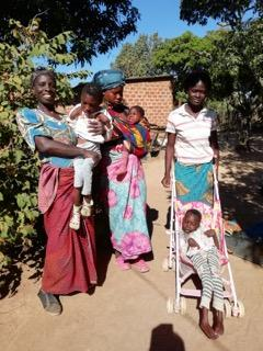 2019-Our work in Zambia - Carers and children in Monze