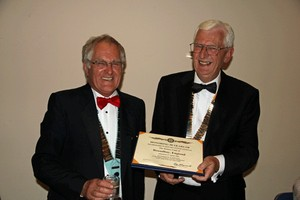 DG Roger with club President