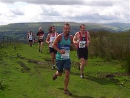 runners on Black hill
