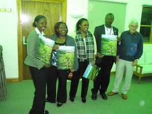 Team welcomed by Wensleydale President Laurie Kent (Large).jpg