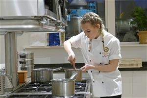 Contestant in Young Chef
