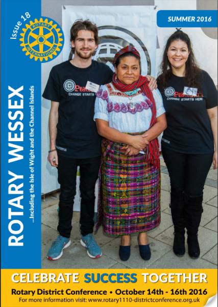 Cover Rotary Wessex Summer 2016