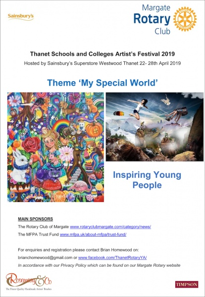 Thanet Schools and Colleges Artist's festival 2019